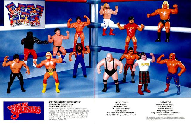 Figuras WWF LJN Toys