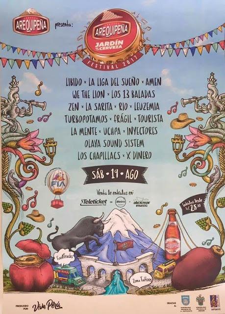 Jardin de la Cerveza Arequipeña 2017