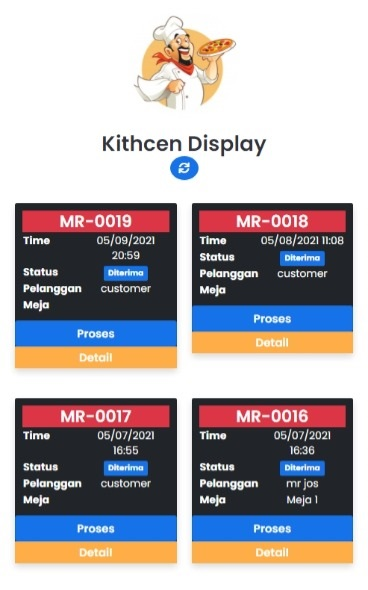 new restaurant application pos, website restaurant