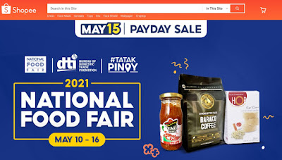 DTI and Shopee launch the Online National Food Fair 2021