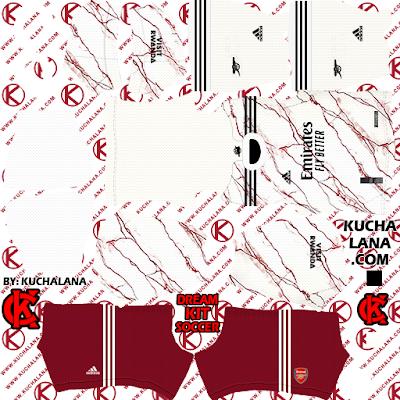Arsenal 2020/21 Kit - DLS20 Kits