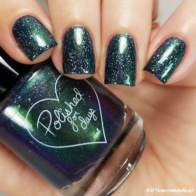 September 2017 For The Love Of Polish Box Polished For Days Uni-cosmos Swatches and Review