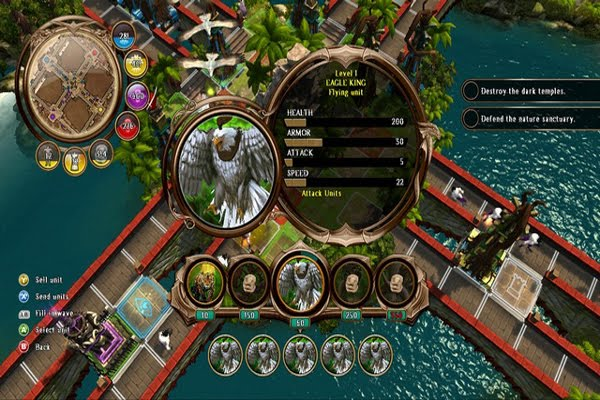 Screen Shot Of Defenders of Ardania (2012) Full PC Game Free Download At worldofree.co