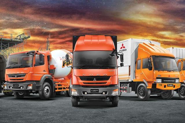 Distributor Truk Kategori Berat Tractor Head Mistubishi