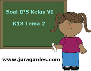 Contoh Soal IPS Kelas 6 Semester 1 K13 Tahun Ajaran 2019/2020