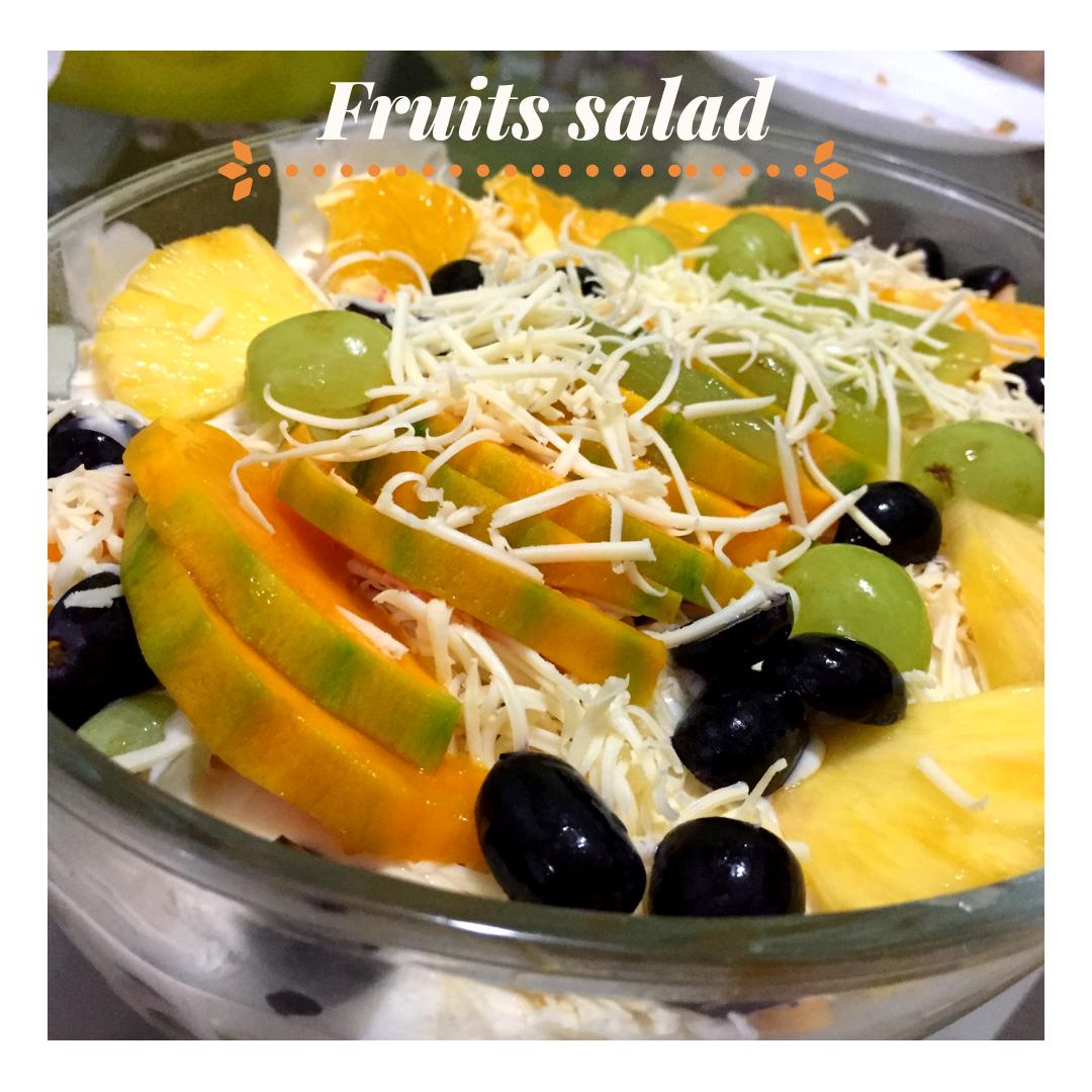 takjil, salad buah