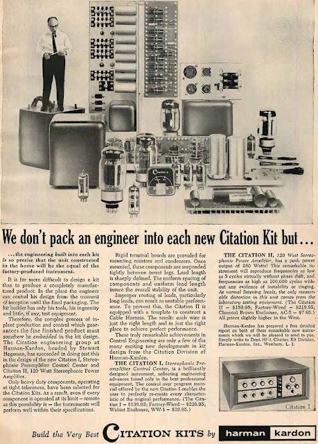 Harmon Kardon Citation Kit Advert