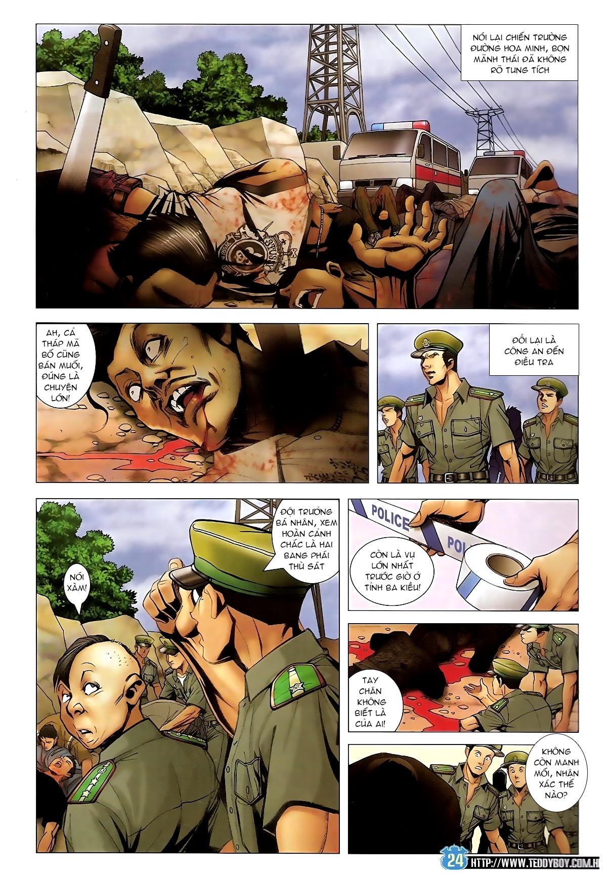 Người Trong Giang Hồ Chap 1433 - Truyen.Chap.VN