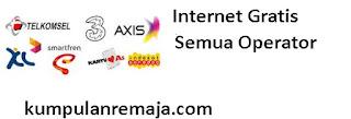 Internet Gratis Semua Operator