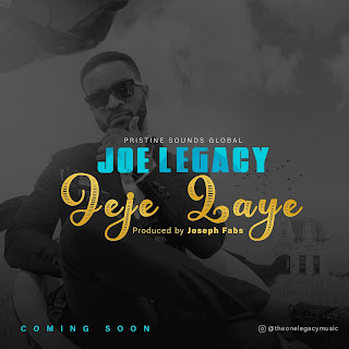 Joe Legacy Set To Drop New Single Starts Jeje Challenge