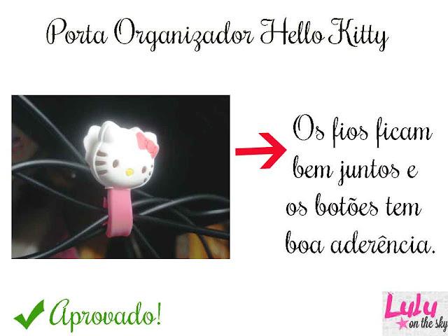 Caneta Maçã e Organizador Hello Kitty da Calda de Morango
