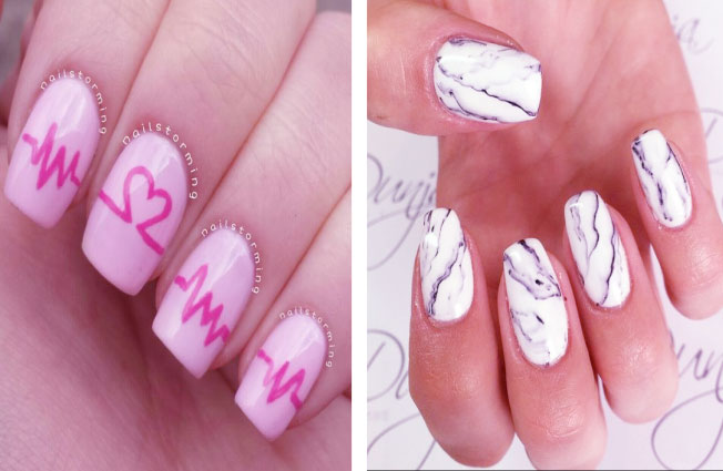 Nail Art Pen Designs With Attractive Details