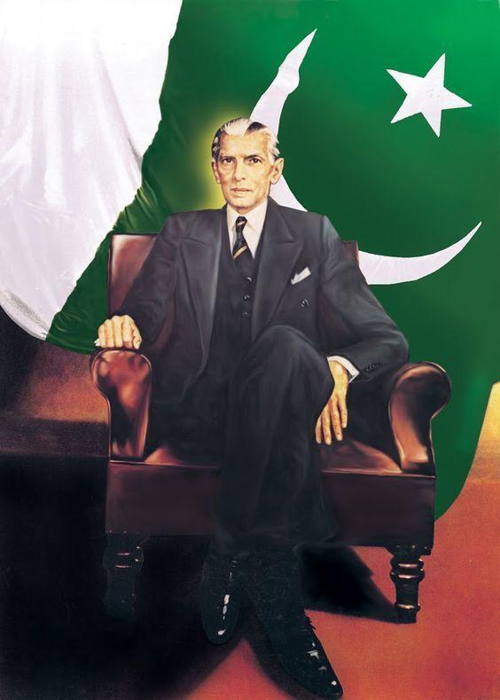 14th August Quaid e Azam Image for Whatsapp Status