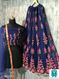 Jiya Gorgeous Bangalori Silk Women's Lehengas