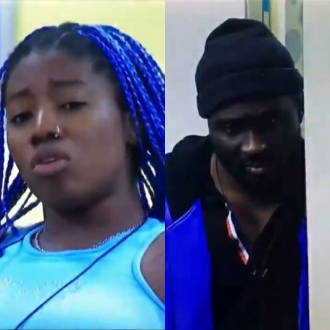 You didn't know my teeth was growing when your d**k was getting hard in my mouth, f**cking !diot- Angel tells Pere as they clash