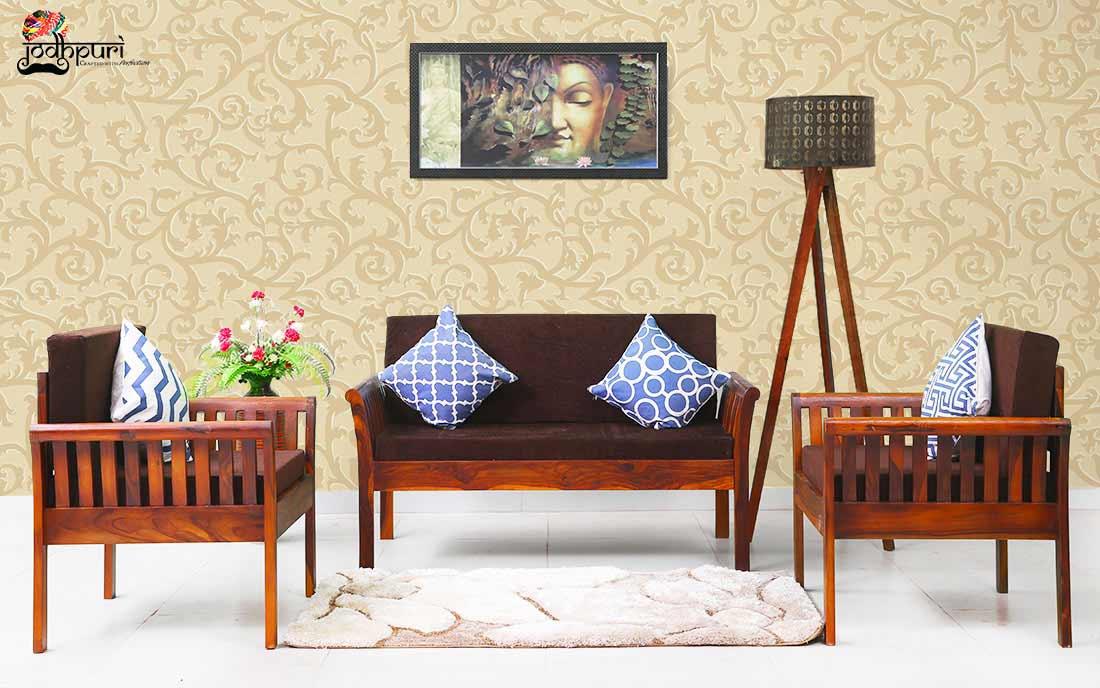 Wooden Sofa Set Furniture