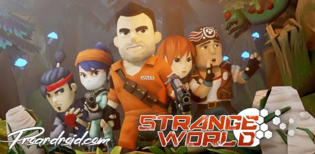 تحميل لعبة  Strange World APK النسخة المهكرة للاجهزة الاندرويد باخر تحديث مجانا