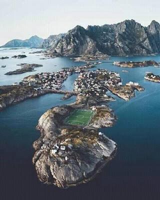 Stadium Henningsvær Yang Menakjubkan di Norway