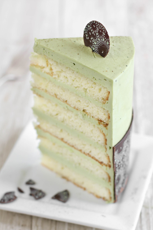 Caramel Meringue Layer Cake