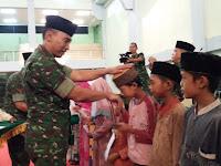 Ramadhan Berkah, Danrem 064/MY Berikan Santunan Anak Yatim-piatu dan Dhuafa