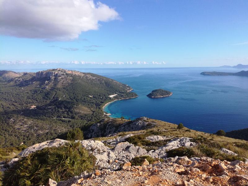 Vista su Plaja de Formentor