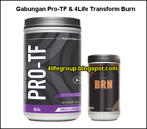 foto Gabungan 4Life PRO-TF dan 4LifeTransform Burn