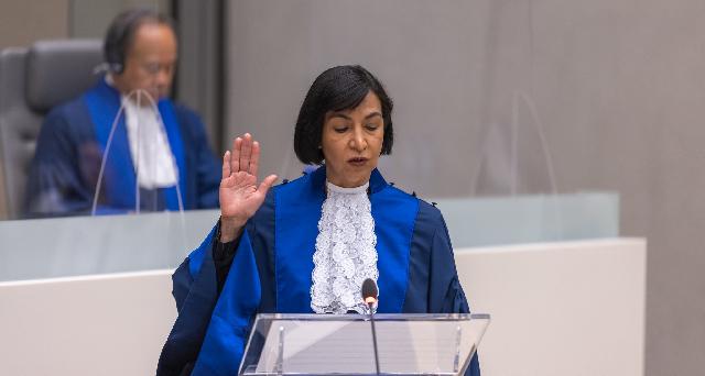 Embajadora Socorro Flores Liera realizó el juramento estatutario como magistrada de la Corte Penal Internacional