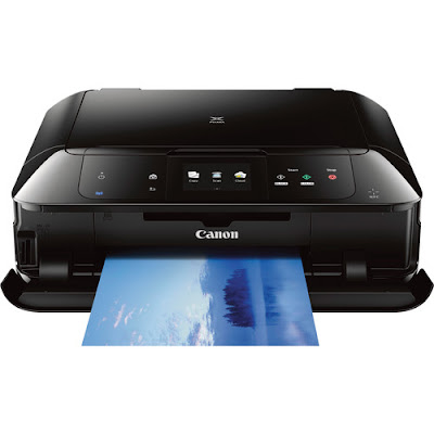 Supplying best pic printing effectivity inwards an all Canon Pixma MG7520 Driver Download
