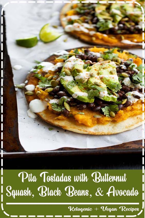 We ate so many amazing meals on our vacation in Maui last week Pita Tostadas with Butternut Squash, Black Beans, & Avocado