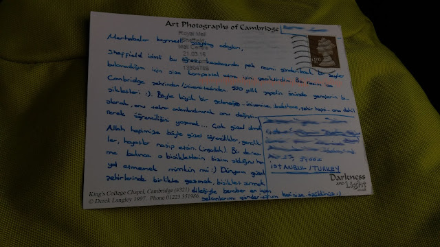 İngiltere kartpostalı