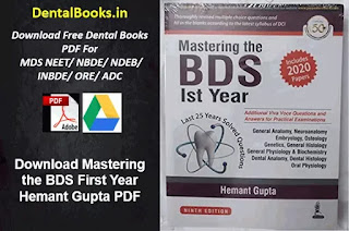 Download Mastering the BDS First Year Hemant Gupta PDF