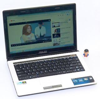 Laptop Design Asus A43S Nvidia Second di Malang