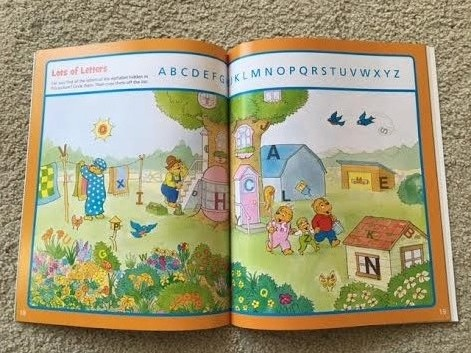 Bear Country Fun Sticker and Activity Book