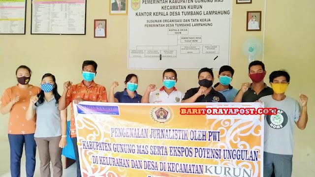 Desa Tumbang Lampahung Gunakan DD, Pasang Listrik dan Bangun Pasar
