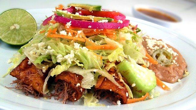 Red Chile Beef Enchiladas