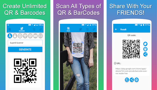 QR and Barcode Scanner PRO