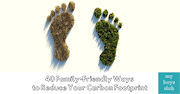 40 Family-Friendly Ways to Reduce Carbon Footprint