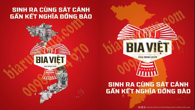 Hình ảnh nhãn hiệu bia Việt