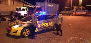 Jaga Kamtibmas Tetap Kodusif, Polsek Soeta rutin Patroli di Pelabuhan Makassar