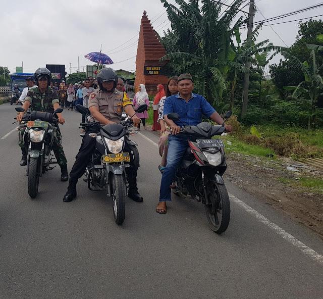 Polsek Gunung Jati Polres Cirebon Kota, PAM Atraksi Kuda Renggong, Andalkan Babhinkamtibmas