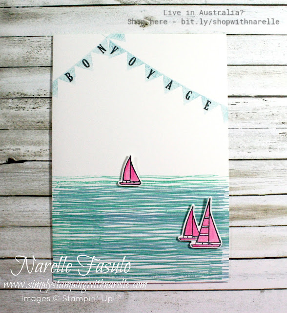 Create beautifully simple cards with just a few stamps using Stampin' Up!'s quality products. See the full product range here -  http:/bit.ly/shopwithnarelle