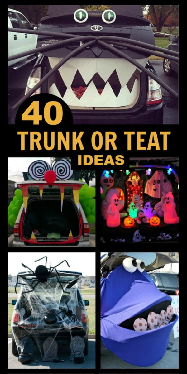 50+ INCREDIBLE trunk decorating ideas for Halloween trunk or treating! #trunkortreat #trunkortreattheme #trunkortreatideasforcarshalloween #trunkortreatideas #trunkdecoratingideas #halloweentrunkortreatideas #halloweenactivities #halloweencrafts #halloween #growingajeweledrose #activitiesforkids