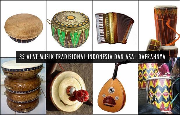 35 Alat Musik Tradisional Indonesia Terlengkap Bagian 2 Adat Nusantara Tradisinya Indonesia