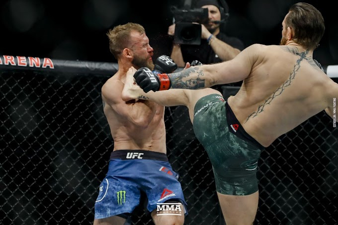 Video: UFC star Conor McGregor beats Donald Cerrone by TKO in 40 seconds