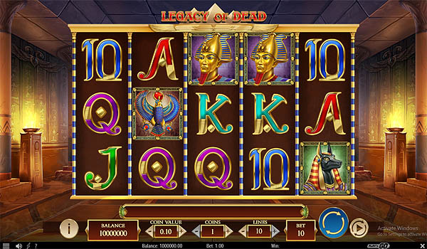 Main Slot Indonesia - Legacy of Dead (Play N Go)