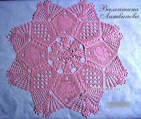Crochet doily _crochet filet