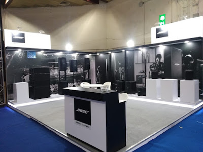 Bose Professional Exhibition at Indian DJ Expo 2019 Pragati Maidan