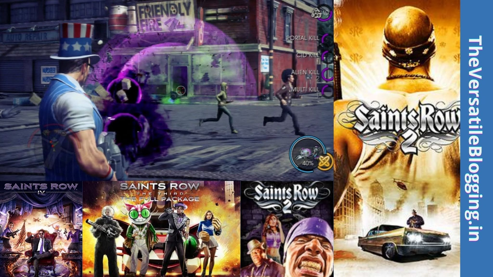 Saints Row Series - Best Games Like GTA For PC [Latest]