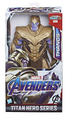 MARVEL Vengadores Endgame | Avengers : Endgame Thanos : Figura de Acción - Muñeco Titan Hero Series : Power FX  Producto Oficial Película 2019 | Hasbro E4018 | A patir de 4 años  COMPRAR ESTE JUGUETE