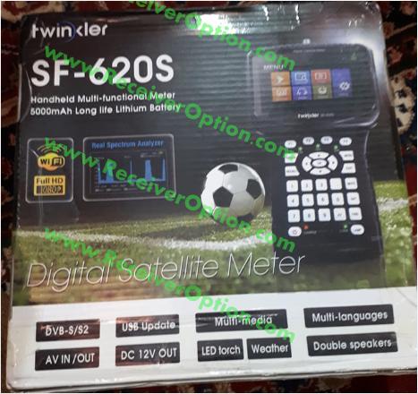 TWINKLER SF-620S DIGITAL SATELLITE FINDER NEW SOFTWARE